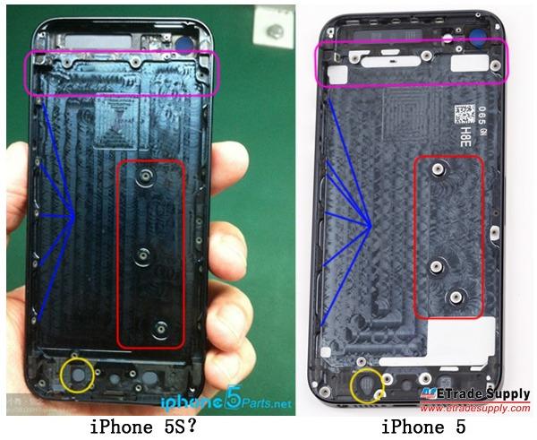 iPhone 5S - Les premières rumeurs en images
