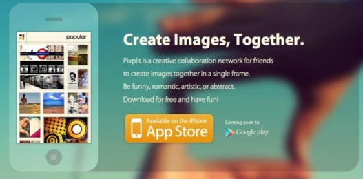 Pixplit - Un savant mélange d'Instagram et Pinterest collaboratif sur iPhone #LeWeb12