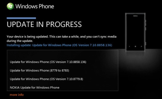 Windows Phone 7.8 arrive pour les Lumia 800