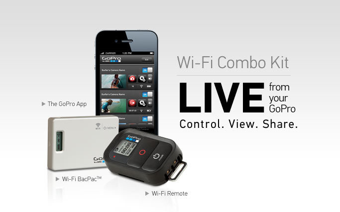 Test du GoPro Wifi Bac Pac