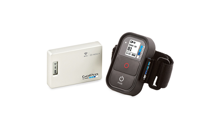 Test du GoPro Wifi Bac Pac