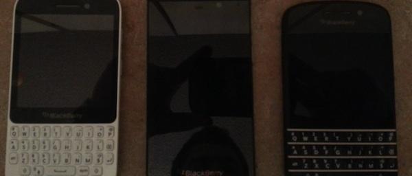 Blackberry Q10 - Premières photos