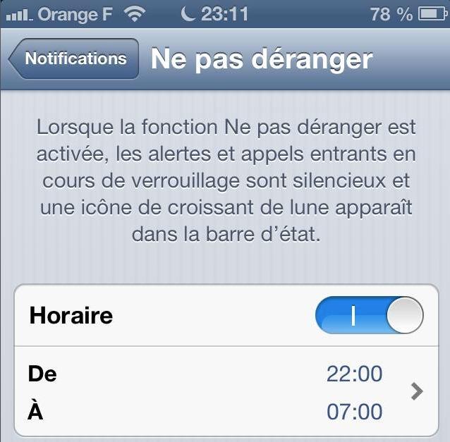 Le bug de l'an 2013 d'Apple - Ne pas déranger