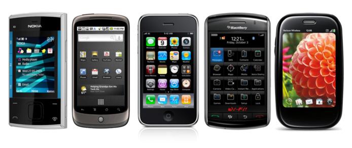 12 OS mobiles au choix en 2013