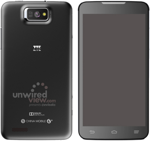 ZTE - un mobile avec un écran de 5.7 p (photo)