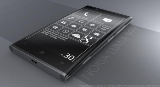 Nokia Lumia 999 - Un concept très élégant