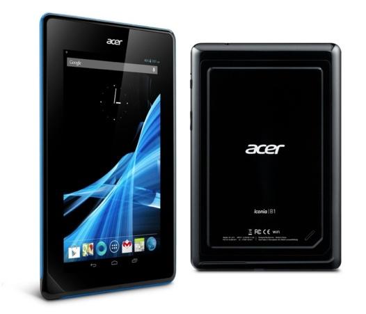 Acer Iconia B1 - Tablette de 7 pouces à 119 €
