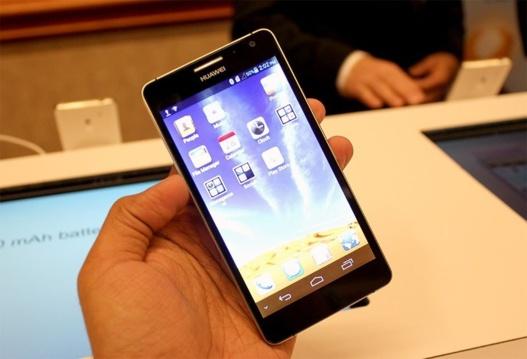 Huawei Ascend D2 - Le 5 pouces de Huawei