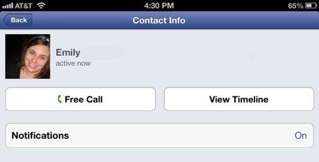 Facebook Messenger - Les appels vocaux gratuits bientôt en Europe?