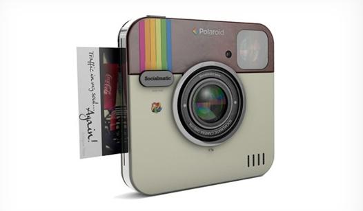 Socialmatic - L'appareil photo Instagram pour 2014 avec Polaroid