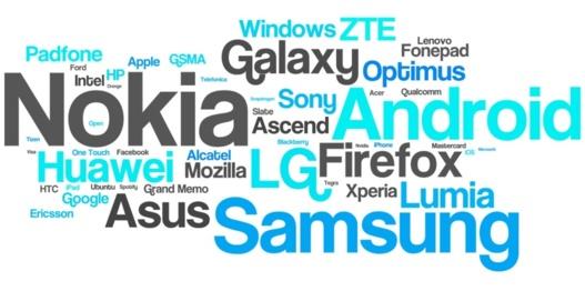 Nokia a été la marque la plus citée sur Twitter pour le MWC 2013 (Top 50)