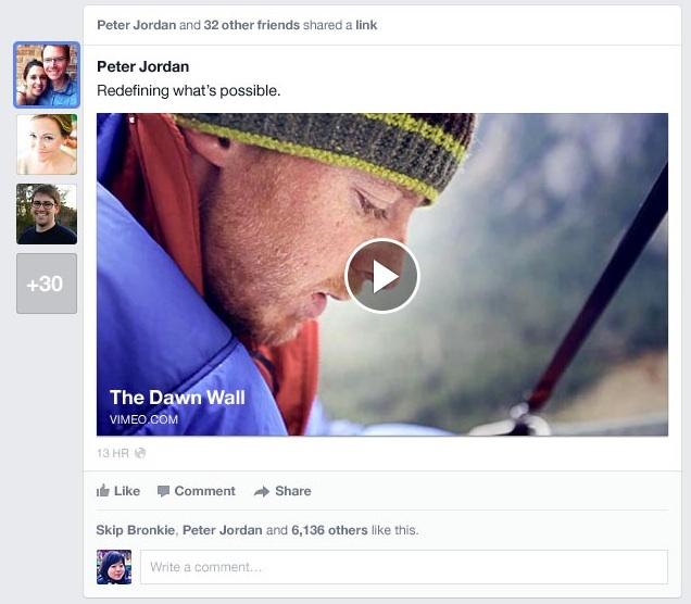 Découvrez la nouvelle Timeline de Facebook en images et vidéo