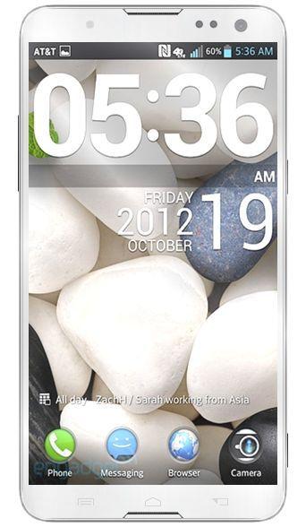 Samsung Galaxy Note 3 - un écran de 5.9 pouces et un processeur 8 coeur?