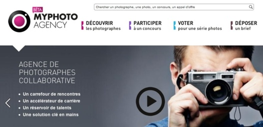 MyPhotoAgency - Agence de photographe collaborative