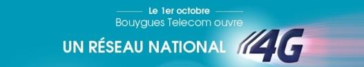 Bouygues ouvre le réseau 4G dès le 1er Octobre 2013