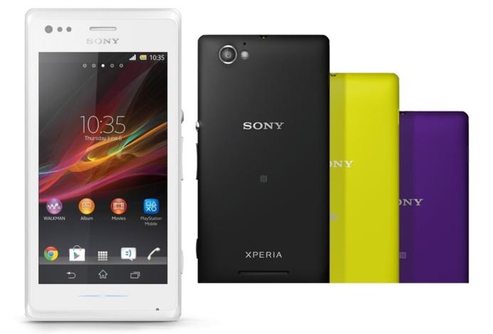 Sony annonce un petit nouveau : Le Xperia M