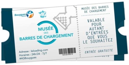 4G - Bouygues Telecom inaugure le Musée des Barres de chargement et gagnez un Galaxy S4
