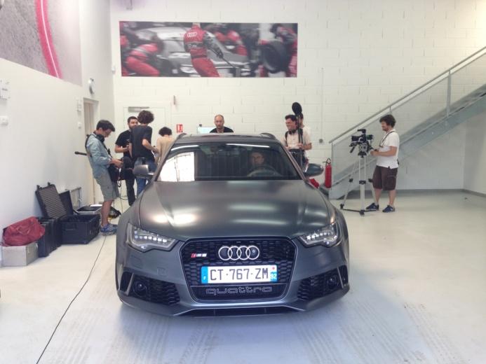 Audi RS6 Avant - Une nouvelle pub avec un son holophonique exceptionnel