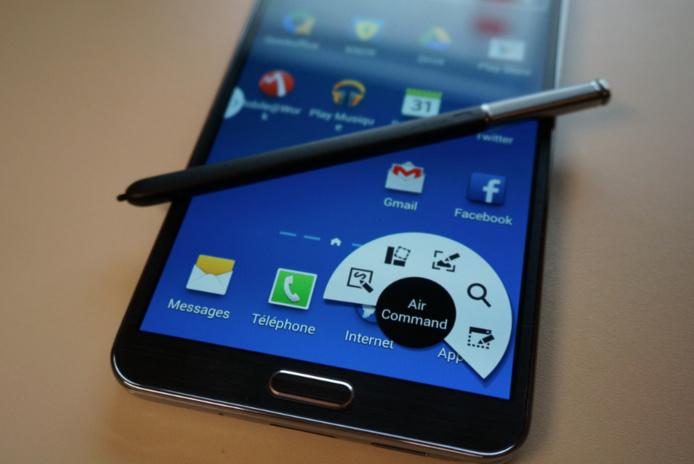 Samsung Galaxy Note 3 - Un outil de travail idéal