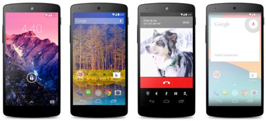 Nexus 5 de Google par LG