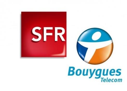SFR et Bouygues vont mutualiser une partie de leurs réseaux mobiles