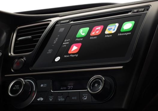 Apple innove dans l'automobile avec CarPlay