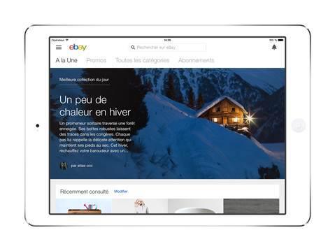 Ebay profite de la période de Noël pour sortir une nouvelle application iPad