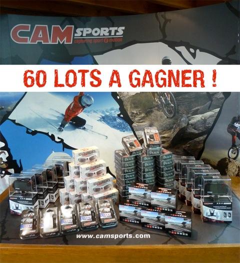 Instant Gagnant - Camsports vous propose de jouer sur Facebook