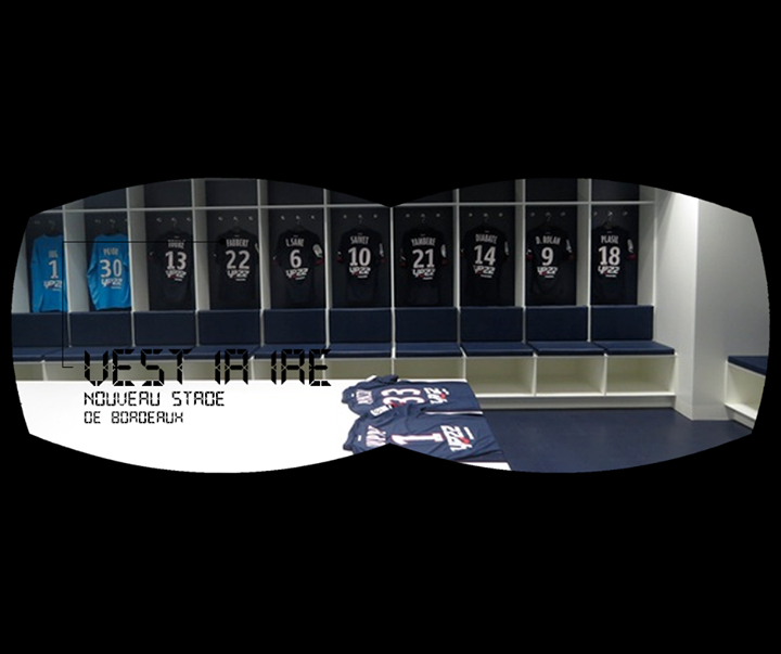 Kia Expérience 360 - Découvrez le nouveau stade de Bordeaux dans votre canapé avec la réalité virtuelle