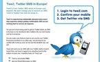 Twe2 - SMS gratuits pour Twitter