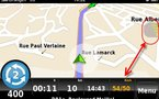 nDrive pour iPhone - test de l'application GPS