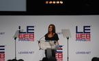 Rania de Jordanie à LeWeb - Standing Ovation