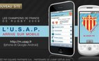 L'USAP arrive sur iPhone et Android