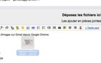 Insertion d'images dans Gmail par Drag and Drop