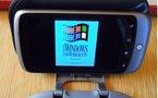 Un Nexus One sous ... Windows 3.11
