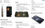 iPhone 4G - Les caractéristiques résumées sur 1 image