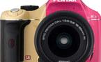 La nouvelle gamme de Pentax K-x se dévoile en quatre couleurs