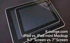 L'iPad 7 pouces se profile à l'horizon