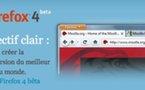 Firefox 4 Beta est disponible en téléchargement