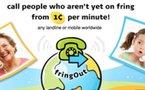 Fring lance FringOut pour concurrencer SkypeOut (0,0013 € la minute )