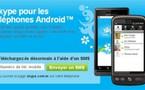 Skype pour Android - C'est fait