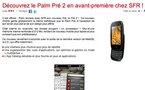 Le Palm Pre 2 en première mondiale chez SFR?