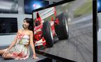 Lg - le plus grand téléviseur LCD 3D au monde