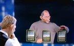 Après le iFan et la iBrouette voici le iPad Nose chez les Guignols