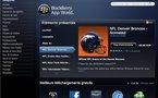 Blackberry App World maintenant sur le Web
