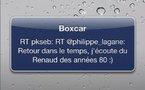 Boxcar pour iPhone - Le Push gratuit pour Twitter, Facebook et autres