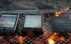 De Android, iPhone 4 ou Windows Phone 7, qui brûle le  mieux ?