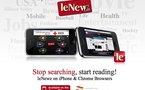LeWeb'10 - présentation de LeNewZ