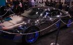CES 2011 - L'Audi R8 de TRON et les autres