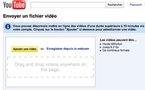 Youtube - Sélectionnez vos vidéos via Drag and Drop pour les uploader